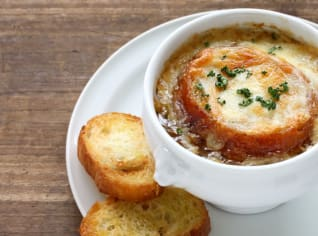 Fotografie k receptu Francouzská cibulačka