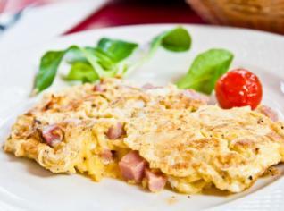 Fotografie k receptu Dřevorubecká omeleta