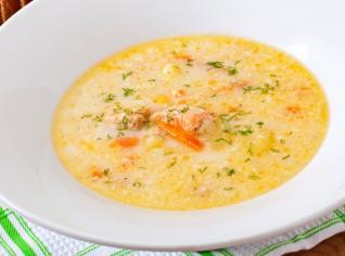 Fotografie k receptu Smetanový krém z lososa