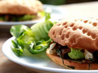 Fotografie k receptu Houbový burger