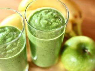 Fotografie k receptu Zelené smoothie