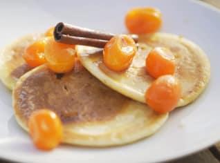 Fotografie k receptu Lívance s kumkvatem, kardamonem a skořicí