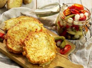 Fotografie k receptu Křenové bramboráčky plněné syrečkem