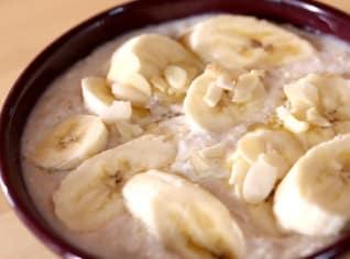 Fotografie k receptu Ovesná kaše s kokosovým mlékem