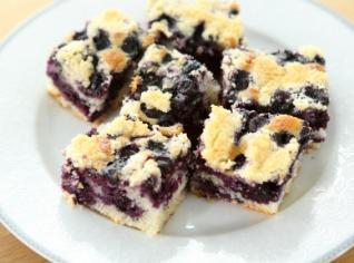 Fotografie k receptu Hrnkový borůvkový koláč
