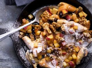Fotografie k receptu Tradiční trhanec s jablky