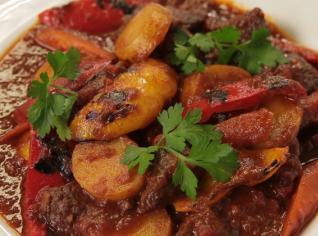 Fotografie k receptu Jehněčí kotlíkový guláš