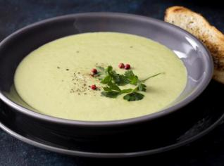 Fotografie k receptu Jemný hráškový krém