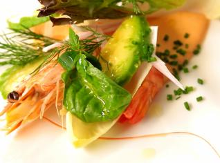 Fotografie k receptu Avokádo s krevetami