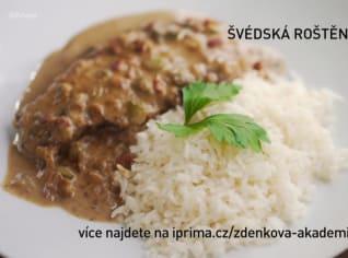 Fotografie k receptu Švédská roštěná s rýží