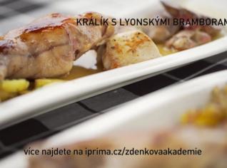 Fotografie k receptu Králík s lyonskými bramborami