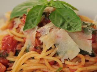 Fotografie k receptu Špagety z rajčat