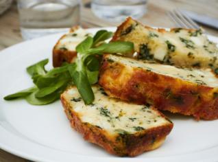 Fotografie k receptu Tortino di zucchine (Dortíček z cukety)