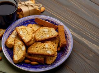 Fotografie k receptu Biscotti s brusinkami a pistáciemi