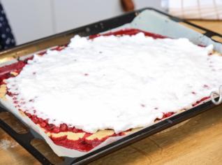 Fotografie k receptu Rybízový koláč