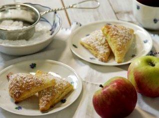 Fotografie k receptu Tvarohové šátečky s jablky