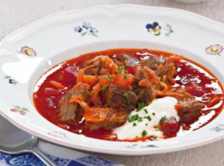 Fotografie k receptu Boršč