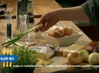 Fotografie k receptu Fleky s uzeným bokem a čerstvou majoránkou