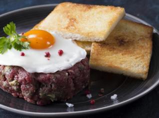 Fotografie k receptu Tatatrský biftek