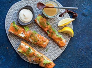 Fotografie k receptu Vánoční marinovaný losos (Gravlax)