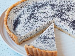Fotografie k receptu Francouzský tvarohový koláč s mákem