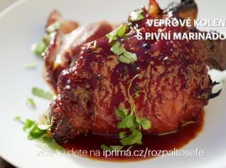 Fotografie k receptu Vepřové koleno s pivní marinádou