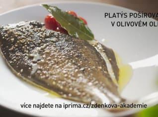 Fotografie k receptu Platýs pošírovaný v olivovém oleji