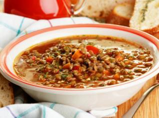 Fotografie k receptu Čočková polévka Daniely Šinkorové