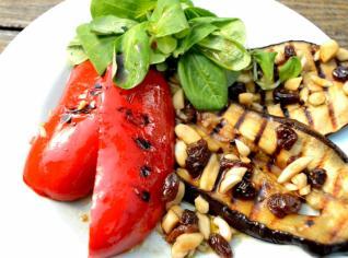 Fotografie k receptu Marinované lilky a papriky
