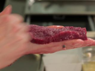 Fotografie k receptu Pštrosí steak