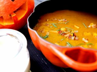 Fotografie k receptu Dýňová polévka
