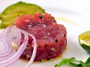 Fotografie k receptu Tartara di tonno (Tatarák z tuňáka)