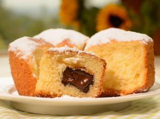 Fotografie k receptu Babiččiny buchty s čokoládou