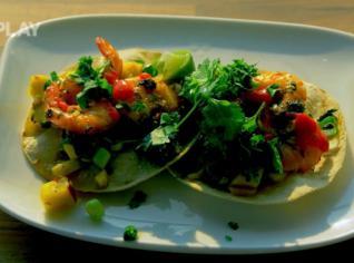 Fotografie k receptu Krevetové tacos
