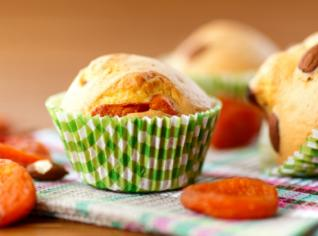 Fotografie k receptu Meruňkové muffiny