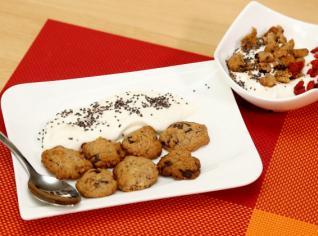 Fotografie k receptu Špaldové sušenky a domácí pribiňák