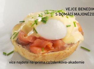 Fotografie k receptu Vejce benedikt s domácí majonézou