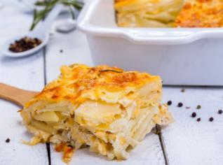 Fotografie k receptu Gratinované brambory Douphiné