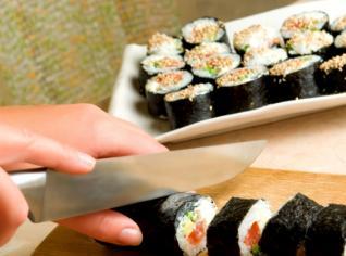 Fotografie k receptu Maki-sushi s tuňákem (Japonská rolka s tuňákem)