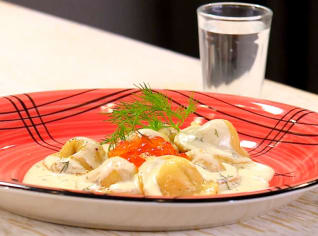 Fotografie k receptu Moskevské pelmeně