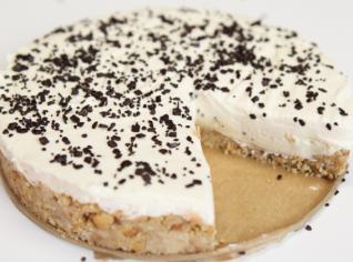 Fotografie k receptu Mandlový cheesecake