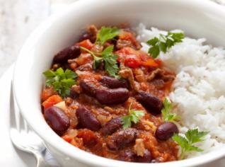 Fotografie k receptu Chilli con carne s rýží