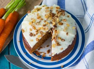 Fotografie k receptu Mrkvový koláč