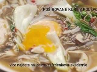 Fotografie k receptu Pošírované kuře v polévce