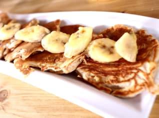 Fotografie k receptu Banánové lívance
