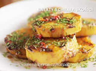 Fotografie k receptu Batáty s chilli a skořicí