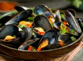 Fotografie k receptu Cozze alla marinara (Slávky po námořnicku)