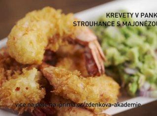Fotografie k receptu Krevety v panko strouhance s majonézou