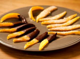 Fotografie k receptu Kandovaný pomeranč