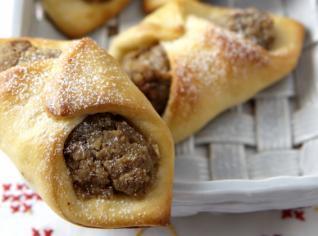 Fotografie k receptu Ořechové rohlíčky